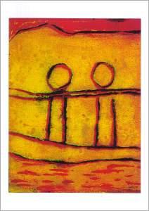 Karte Nr. rs0030|Begegnung|21 x 14.5 cm|Fr.6.50